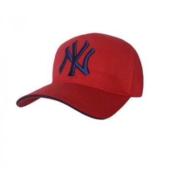 Стильная мужская кепка NY Sport Line 5304 57-60 цвет красный