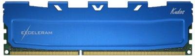 Оперативна пам'ять Exceleram DDR3-1600 8192MB PC3-12800 Blue Kudos (EKBLUE3081611A)