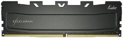 Оперативна пам'ять Exceleram DDR4-3200 8192MB PC4-25600 Black Kudos (EKBLACK4083216A)