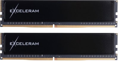 Оперативна пам'ять Exceleram DDR4-2400 16384MB PC4-19200 (Kit of 2x8192) Black Sark (ED416247AD)