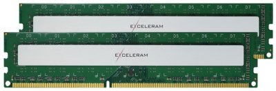 Оперативна пам'ять Exceleram DDR3-1600 16384MB PC3-12800 (Kit of 2x8192) Silver PeeWee (E30166A)