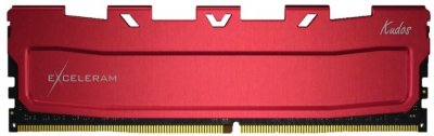 Оперативная память Exceleram DDR4-3600 8192MB PC4-28800 Red Kudos (EKRED4083618A)