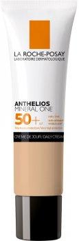 Солнцезащитный увлажняющий тональный крем La Roche-Posay Anthelios Mineral One с очень высокой степенью защиты SPF50 + Оттенок 02 30 мл (3337875706674)