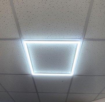 Растровий світильник LED рамка арт панель