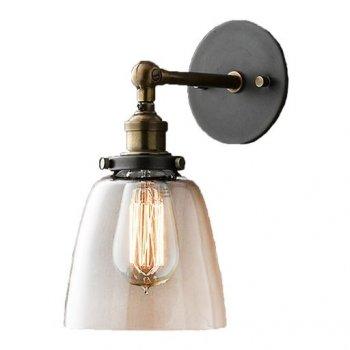 Бра Melody WM-B5004 ST64+ лампа чорне (11715613)