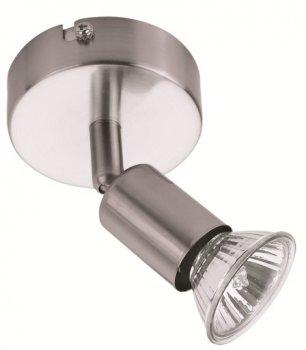 Спот PowerLight Munchen 1х50W GU10 нікель (10258990)
