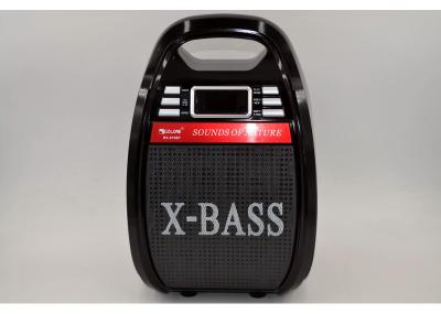 Акустическая система Golon RX-810 с функцией Bluetooth и AUX портом колонка + усилитель с микрофоном Чёрная (10112)