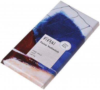Шоколад Vivani молочный органический 100 г (4044889001037)
