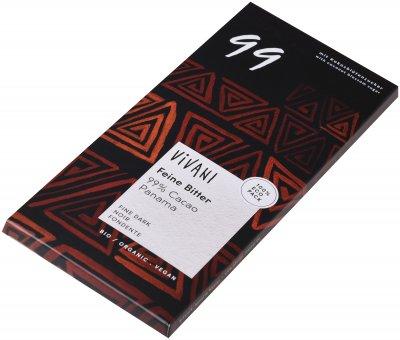 Шоколад Vivani чорний органічний 99% какао 80 г (4044889002904)