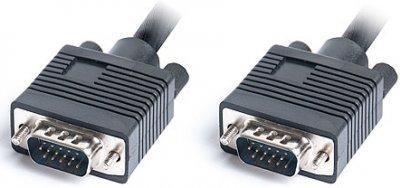 Кабель Real-El VGA HD15M-VGA HD15M Pro 1.8 м Black (EL123500043)