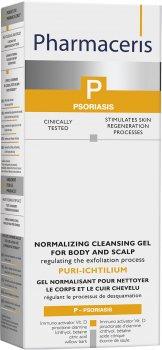 Гель Pharmaceris P Puri-Ichtilium Body and Scalp Wash Gel для мытья кожи головы и тела 250 мл (5900717146259)