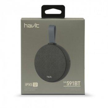 Беспроводная Вluetooth колонка HAVIT HV-SK591BT black