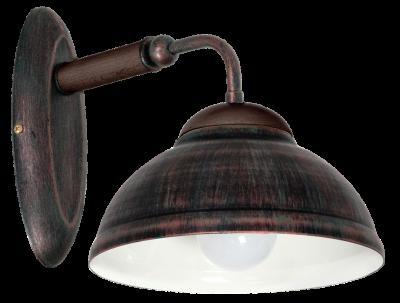 Настінний світильник бра Luminex Folk Бронзовий (7518)
