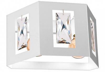 Настінний світильник бра Luminex Kristall Білий (7184)