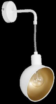 Настінний світильник бра Luminex Georg Білий (8180)