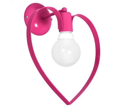 Настенный светильник бра Luminex Amore детский Розовый (9955)