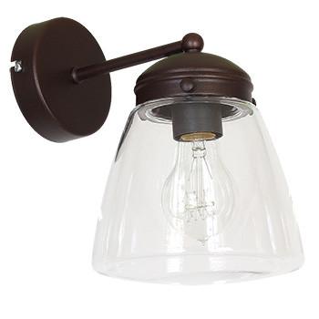 Настінний світильник бра Luminex Craig Прозорий (5054)