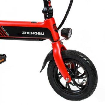 Электровелосипед Zhengbu С2 Red