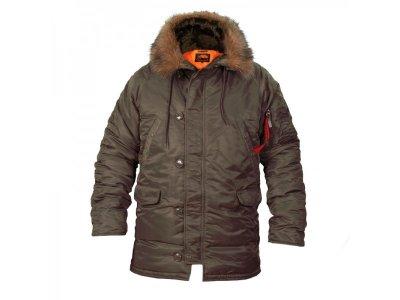 Мужская зимняя куртка Chameleon Аляска N-3B Olive