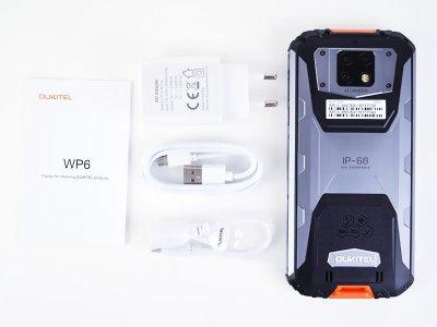 Мобільний телефон Oukitel WP6 (6+128Gb, АКБ 10000 маг) Yellow