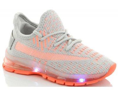 Кросівки FZD LED-підошва FZ-GR Сірі (nv2860-g)