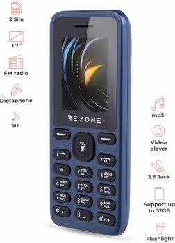 Мобільний телефон Rezone A170 Point Dark Blue