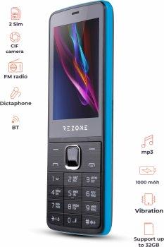 Мобільний телефон Rezone A280 Ocean Black/Blue