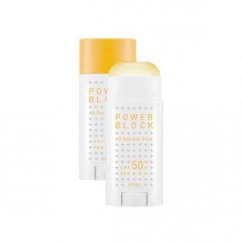 Солнцезащитное средство A'pieu Power Block All Day Sun Stick Pposong Spf50+/Pa++++ (SW0000418)
