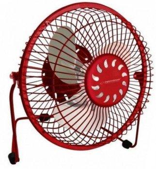 Настольный вентилятор Esperanza Yugo EA149R, красный
