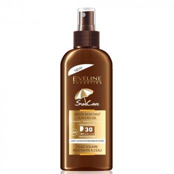 Солнцезащитное водостойкое масло Eveline Sun Care SPF 30 с маслом аргана 150 мл (5907609376787)