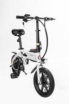 Электровелосипед Zhengbu D6 White