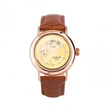 Часы из красного золота с кожаным ремешком 000135561 000135561