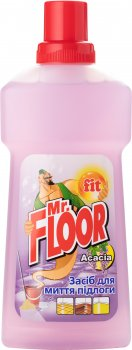 Средство для мытья пола Fit Mr. Floor Акация 500 мл (4820021765100)