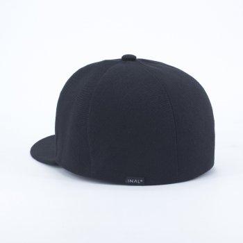 Закрытая кепка Flex Fit INAL 5 панелей XXL / 61-62 RU Черный 192461