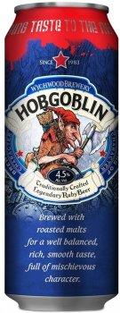 Упаковка пива Wychwood Brewery Hobgoblin темное фильтрованное 4.5% 0.5 л х 24 шт (5011348017112)