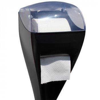 Щітка для унітазу Marplast з тримач туалетного паперу DUO LINEA SKIN (A92113BM)
