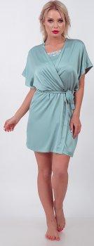 Халат BARWA garments 0242 Бирюзовый