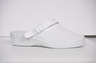 Обувь (сабо) медицинская женская, Теллус, модель Яна белые