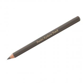 Олівець для брів пудровий de Luxe Miss Claire Blonde Сіро-коричневий
