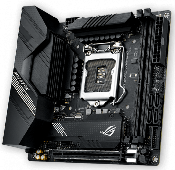 Материнська плата Asus ROG Strix B460-I Gaming (s1200, Intel B460, PCI-Ex16)