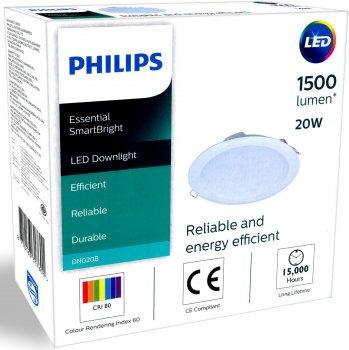 Потолочный светильник Philips DN020B LED15/CW 20W 220-240V D175 RD (911401715712)