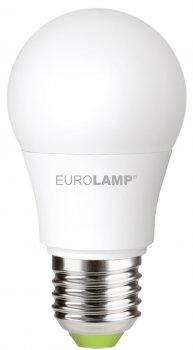 Світлодіодна лампа EUROLAMP А50 7 W E27 4000 K (LED-A50-07274(P)) 3 шт.