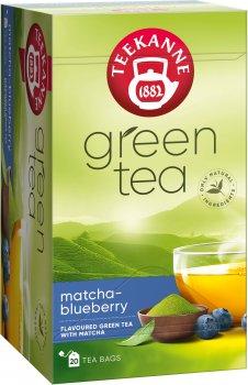 Чай зеленый пакетированный Teekanne Матча с черникой 20 пакетиков (4009300528807)