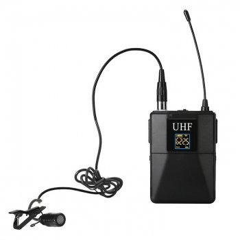 Бездротовий петличний мікрофон Alitek WM-10 для смартфонів, планшетів, фото/відео камер (48224)