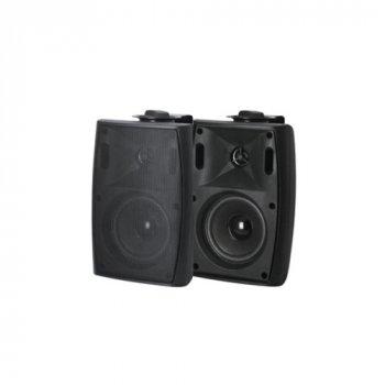 """Настінний динамік L-Frank Audio HYB125-5TAB 5,25"""", 20-30Вт, 100V, Black"""
