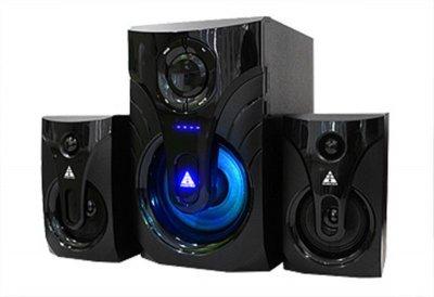 Комп'ютерна акустична система Golden Field LA-215G BT Black