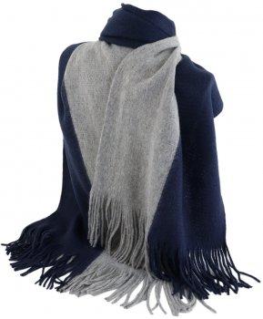 Шарф Traum 2483-640 Сине-серый