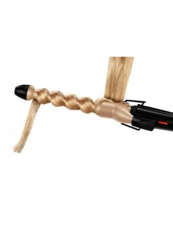 Плойка спіраль для волосся SBC 240 A1 Silver Crest 35см Бежевий 32000000197265
