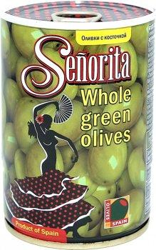 Оливки Señorita с косточками 280 г (8436024294996)