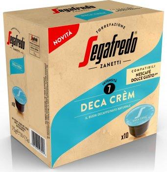 Кава в капсулах Segafredo Deca Crèm Dolce Gusto 10 шт. x 7.5 г (8003410232773)